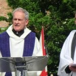 Father Bill and the Rev Peter Francis