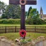 The wayside cross fully restored